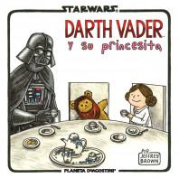 Star Wars Vader y su princesita